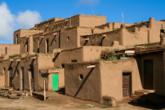 Taos Pueblo in New Mexico, USA Stock Images
