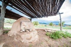 Taos-Pueblo - traditionelle Art der gebürtigen Inderarchitektur Lizenzfreies Stockfoto