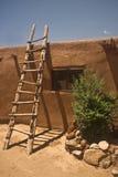 Taos Pueblohaus Stockbild