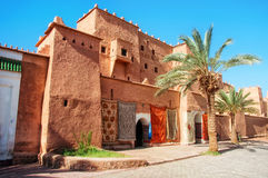 Taourirt Kasbah em Ouarzazate Fotos de Stock