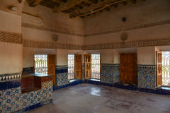 Taourirt Kasbah interior Royalty Free Stock Images