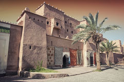 Taourirt Kasbah in Ouarzazate Royalty Free Stock Image