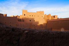 Taourirt Kasbah, Ouarzazate in Morocco Stock Photos
