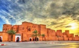 Taourirt kasbah w Ouarzazate, Maroko obraz stock