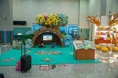 Taoyuan International Airport Terminal children's playground area Stock Photos