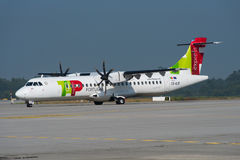 TAP - Air Portugal Express ATR 72 Stock Photography