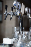 Tap for beer. Stock Photos