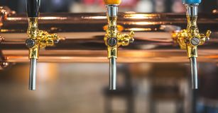 The Beer tap royalty free stock image