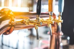 The Beer tap stock photo