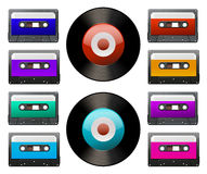 Tap cassette Royalty Free Stock Photos