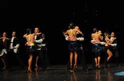Tap dance Bikini-The rumba-the Austria's world Dance Stock Photo