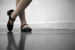 Tap Dance Class Royalty Free Stock Images