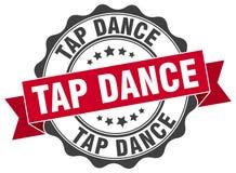 Tap dance stamp Stock Photos