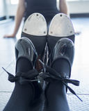 Tap dancer dreams Stock Photo