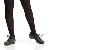 Tap Dancers Feet Royalty Free Stock Photo