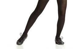 Tap Dancers Feet Stock Image