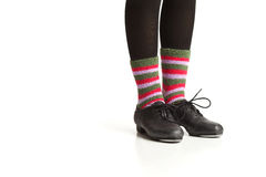 Tap Dancers Feet Royalty Free Stock Images