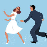 Tap Dancers Royalty Free Stock Image
