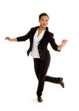 Tap Dancing Girl in Action Royalty Free Stock Photo