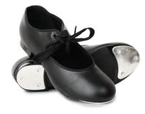 Tap dancing shoes Royalty Free Stock Image