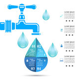 Tap icon. Business Infographics. Royalty Free Stock Photo