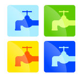 Tap icons Royalty Free Stock Photo