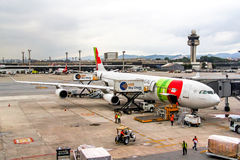 TAP Portugal Airbus A340 Photo stock