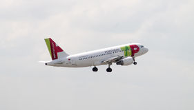 TAP Portugal Airbus A319 Royalty Free Stock Image