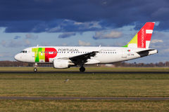 TAP Portugal Airbus A319 Royalty Free Stock Images