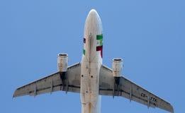 TAP Portugal-Fluglinienflugzeuge stockfoto