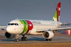 A320 TAP Stock Image