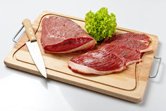 Tap of Rump. Raw beef cut known as tap of rump Royalty Free Stock Photography