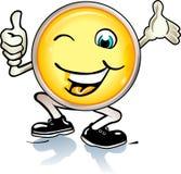 Tap smiley Royalty Free Stock Photos