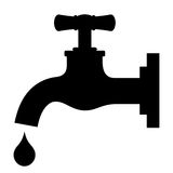 Tap vector symbol Stock Photography