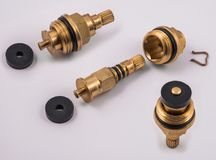 Tap Valve parts view Royalty Free Stock Image