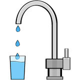 Tap Water Stock Photography
