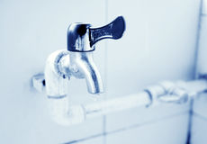 TAP WITH WATER DROP Royalty Free Stock Photos