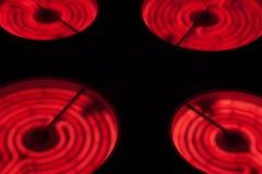 Tapa de cerámica de la estufa Imagen de archivo libre de regalías
