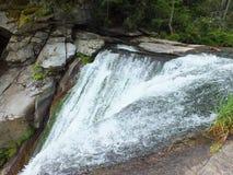Tapa de la cascada Fotografía de archivo libre de regalías