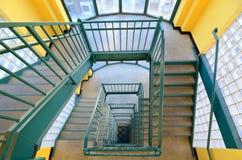 Tapa de la escalera Foto de archivo libre de regalías