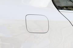 Tapa de la gasolina del coche Imágenes de archivo libres de regalías
