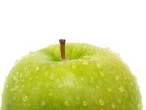 Tapa de la manzana verde Foto de archivo libre de regalías