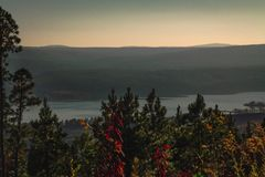 Tapa de la montaña Fotografía de archivo libre de regalías