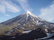 Tapa de la montaña Imagen de archivo