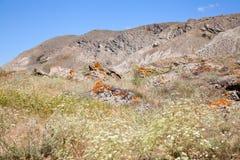 Tapa de la montaña de Kara Dag Imagen de archivo