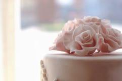 Tapa de la torta de boda Imagenes de archivo