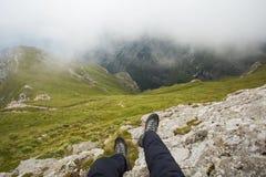 Tapa de las montañas Fotos de archivo