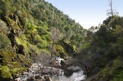 Tapa de una cascada Imagen de archivo libre de regalías