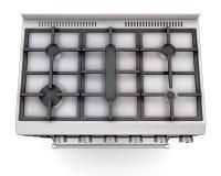 Tapa de una cocina stock de ilustración