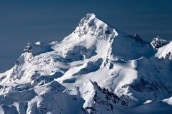 Tapa de una montaña Imágenes de archivo libres de regalías